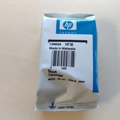 Cartus model HP 56 - SIGILAT Original negru black nou cartuse listare imprimante