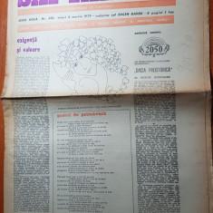 "Ziarul saptamana 2 martie 1979-poezia ""pastel de primavara"" corneliu vadim tudor"