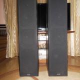 Boxe turn-podea Heco 3 cai, inalta fidelitate,aspect f.bun,sunet clar