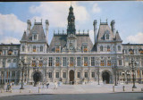 Franta - CP necirc. -  Paris - Hotelul Orasului, Necirculata, Fotografie