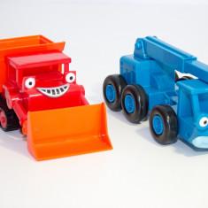 Set Masini Constructii Santier Bob The Builder - Masinuta Mattel