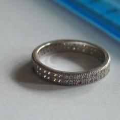Inel argint cu zirconii -2828