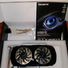 Gigabyte GeForce GTX 460 1GB GDDR5 256bit OC - Placa video PC Gigabyte, nVidia