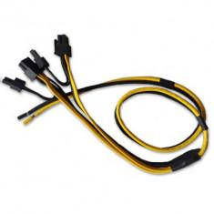 Pachet 10 Cabluri PCI-E La 2x 6+2 Pini Pentru Minat - Sursa PC HP