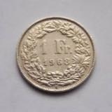 Monede vechi elvetiene  din 1970 si din 1968, Europa