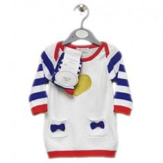 Rochita tricotata cu ciorap asortat, 0-3,3-6,6-9,9-12 luni