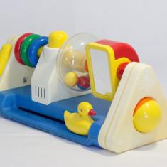 Centru de activitati Ambi Toys jucarie bebelusi copii mici dezvoltare simturi - Jocuri Forme si culori