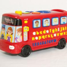 Autobuz abecedar interactiv VTech