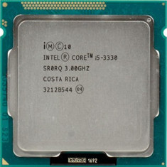 Procesor Quad Core i5 3330 3.0Ghz Ivy Bridge 6Mb cache, socket 1155 - Procesor PC Intel, Intel, Intel Core i5, Numar nuclee: 4, Peste 3.0 GHz