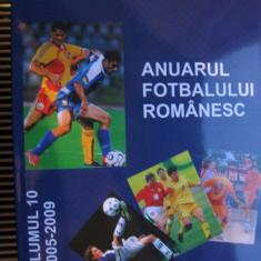 Anuarul fotbalului romanesc (vol.10- 2005-2009) - Carte sport