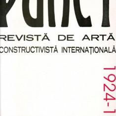 Revista Punct, 1924-1925, avangarda