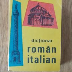 DICTIONAR ROMAN-ITALIAN- ALEXANDRU BALACI - Curs Limba Italiana