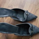 Papuci superbi Gucci originali 40 C, Din imagine