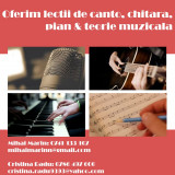 Oferim cursuri de Canto, Chitară, Pian & Teorie Muzicală