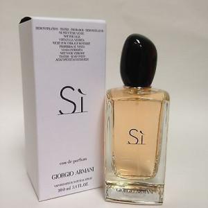Parfum Tester Giorgio Armani Si 100ml+ CADOU