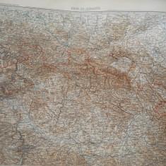 HOPCT DOCUMENT-HARTA VECHE NR 11  -GERMANIA DEUTSCHEN REICHS GOTHA D=490/405 MM