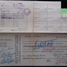 Olt Corabia Bilet la ordin  Agricol 1948