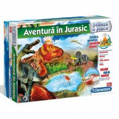 Aventura in Jurasic 60180 Clementoni - Jocuri Logica si inteligenta