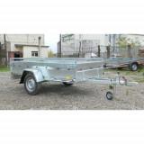 Remorca auto 750kg Niewiadow Majster 245x132 cm, 6 RATE Fara Dobanda, cu RAR