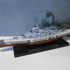 Macheta Crucisator Bismarck - Germania Nazista scara 1:1250 - Macheta Navala
