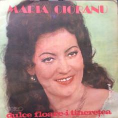 Maria ciobanu dulce foare i tineretea album disc vinyl lp muzica populara