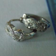 """Cercei argint """"Infinit"""" -2827"""