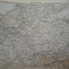 HOPCT DOCUMENT-HARTA VECHE NR 8  -GERMANIA DEUTSCHEN REICHS GOTHA D=490/405 MM