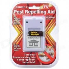 Pest Repeller, aparat contra soareci, gandaci, furnici, paianjeni, Pest reject RIDDEX Plus