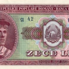 10 Lei 1952 - Bancnota romaneasca