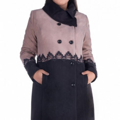 Palton Laura cappucino - Palton dama