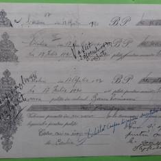 Olt Corabia Bilet la ordin cu timbru si apostila 1930 3 buc