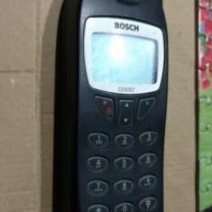 Telefon mobil colectie vintage BOSCH GSM COM608 din 1999 connex-vodafon RO Blackview, Negru, Nu se aplica, Vodafone, Fara procesor