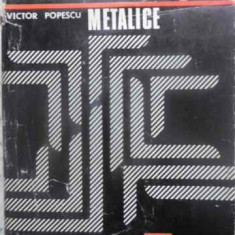 Constructii Metalice - Victor Popescu, 411750 - Carti Constructii