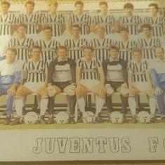 VTSP - SPORT - ECHIPA DE FOTBAL FC JUVENTUS - TORINO - ANII 1985 - Carte postala tematica, Necirculata, Fotografie