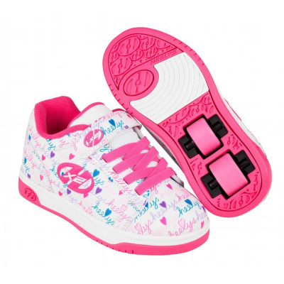 Heelys X2 Dual Up White/Pink/Multi foto