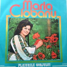 Maria ciobanu plaiurile gorjului album disc vinyl lp muzica populara folclor, VINIL, electrecord