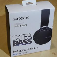 SONY Extra Bass MDR-XB650BT, Casti On Ear, Wireless