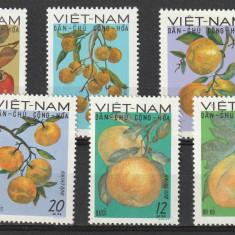 Fructe dantelata, Vietnam. - Timbre straine, Nestampilat