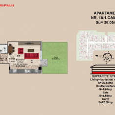 Garsoniera, Brasov, Mall Coresi, 2017, 36.2 mp - Garsoniera de vanzare, Parter