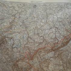 HOPCT DOCUMENT-HARTA VECHE NR 10  -GERMANIA DEUTSCHEN REICHS GOTHA D=490/405 MM
