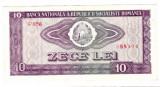 2.Bancnota 10 lei 1966 a.UNC aproape necirculata