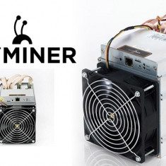 2 Buc x Bitmain Antminer S9 Bitcoin Miner 13.5TH/s + Power Supply
