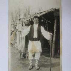 Fotografie originala 140 x 88 mm cu Petrache Lupu-Sfantul de la Maglavit anii 30