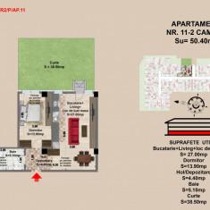 Ap. 2 camere, Brasov, Mall Coresi, 2017, 50.2 mp - Apartament de vanzare, Numar camere: 2, Parter