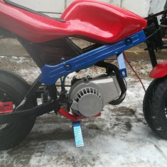 Vand poket bike,, arata impecabil,, motorul este nou, porneste la prima sfoara .. - ATV Yamaha