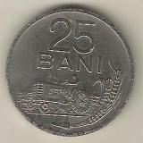 ROMANIA   RPR   25 BANI 1960  [1]    livrare in cartonas, Fier