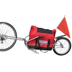 Remorcă cargo de bicicletă cu o roată și geantă de depozitare - Remorca bicicleta