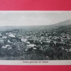 Carte postala Saliste, necirculata din anii 30 - Carte Postala Transilvania dupa 1918, Printata
