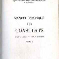 Manuel pratique des consulats A Verdier 3 volume