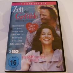 Zeit der Gefuhle - 3 dvd - Film romantice, Altele